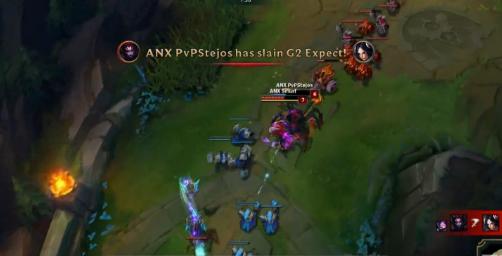 【战报】王者实力尽显 G2击败小组第一ANX